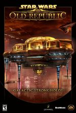 Jaquette Star Wars : The Old Republic - Galactic Strongholds