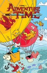 Couverture Adventure Time, tome 4