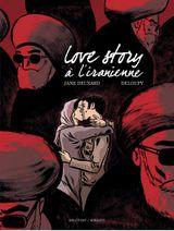 Couverture Love story à l'iranienne