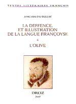 Couverture Défense et illustration de la langue française