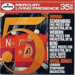 Pochette Vienna: Schoenberg: 5 Pieces for Orchestra / Webern: 5 Pieces for Orchestra / Berg: 3 Pieces for Orchestra, Lulu Suite