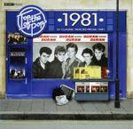 Pochette Top of the Pops 1981