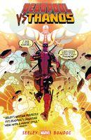 Couverture Deadpool vs. Thanos