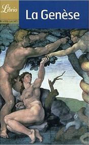 Couverture Genèse