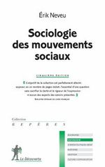 Couverture Sociologie des mouvements sociaux