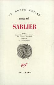 Couverture Sablier