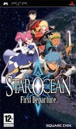 Jaquette Star Ocean : First Departure