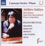 Pochette Piano Recital