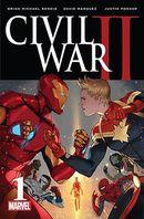 Couverture Civil War II