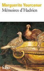 Couverture Mémoires d'Hadrien