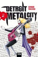 Couverture Detroit Metal City, tome 2