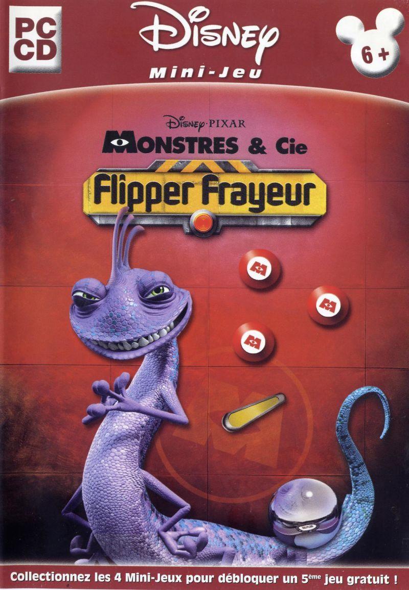Monstres Cie Flipper Frayeur 2002 Jeu Video