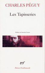 Couverture Les tapisseries précédé de Sonnets Les sept contre Thèbes Châteaux de Loire