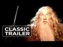 Video de Le Seigneur des Anneaux : La Communauté de l'anneau
