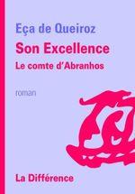 Couverture Son Excellence le comte d'Abranhos