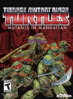 Jaquette Teenage Mutant Ninja Turtles : Mutants in Manhattan