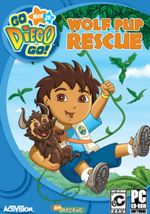 Jaquette Go Diego Go : Wolf Pup Rescue