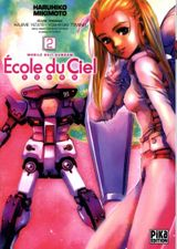 Couverture Mobile Suit Gundam : École du ciel, tome 2