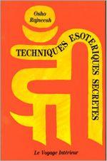 Couverture Techniques ésotériques secrètes