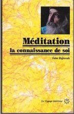 Couverture Méditation, la connaissance de soi
