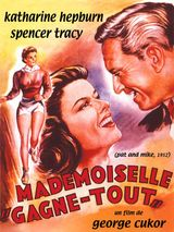 Affiche Mademoiselle Gagne-tout
