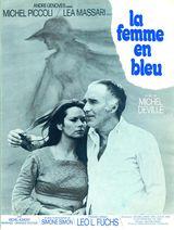 Affiche La femme en bleu