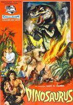 Affiche Les Monstres de l'île en feu
