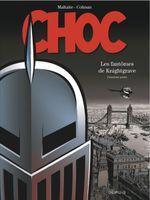 Couverture Les Fantômes de Knightgrave : Deuxième Partie - Choc, tome 2