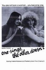 Affiche L'Une chante, l'autre pas