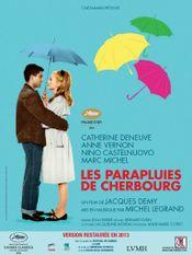 Affiche Les Parapluies de Cherbourg