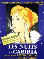 Affiche Les Nuits de Cabiria