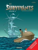 Couverture Anomalies quantiques - Les Survivants, tome 4