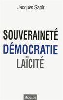 Couverture Souveraineté, démocratie, laïcité