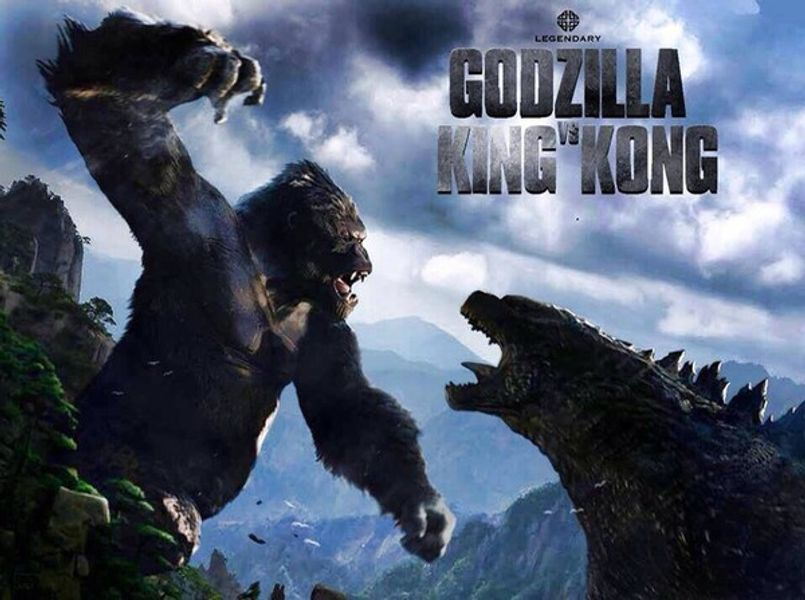 Illustration Godzilla vs King Kong : le crossover en préparation !