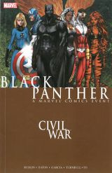 Couverture Civil War: Black Panther