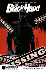 Couverture The Black Hood #9