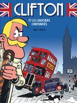 Couverture Clifton et les Gauchers contrariés - Clifton, tome 22