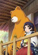 Affiche Kumamiko: Girl Meets Bear