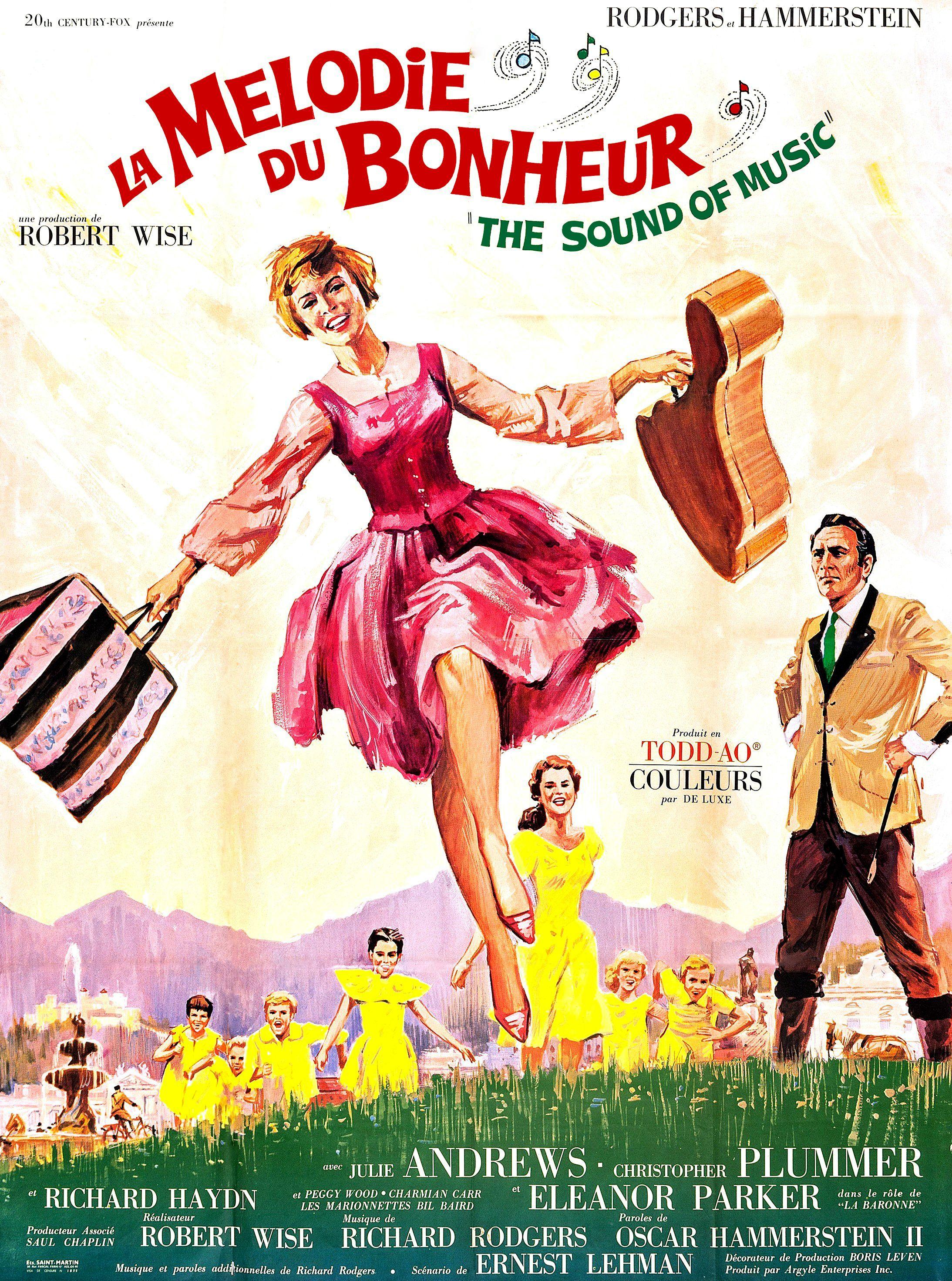 Affiches, posters et images de La Mélodie du bonheur (1965)