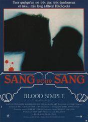 Affiche Sang pour sang