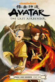 Couverture Avatar : The Last Airbender - Smoke and Shadow, tome 1