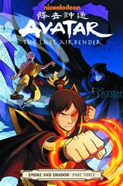 Couverture Avatar : The Last Airbender - Smoke and Shadow, tome 3