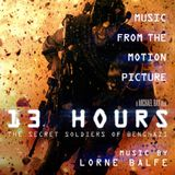 Pochette 13 Hours: The Secret Soldiers of Benghazi (OST)
