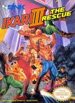 Jaquette Ikari Warriors III: The Rescue