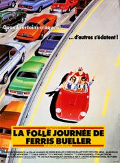 Affiche La Folle Journée de Ferris Bueller