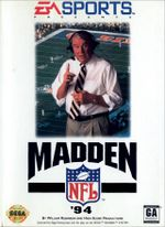Jaquette Madden NFL '94