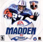 Jaquette Madden NFL 2001