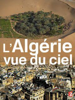 Affiche L'Algérie vue du ciel