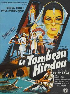 Affiche Le Tombeau hindou
