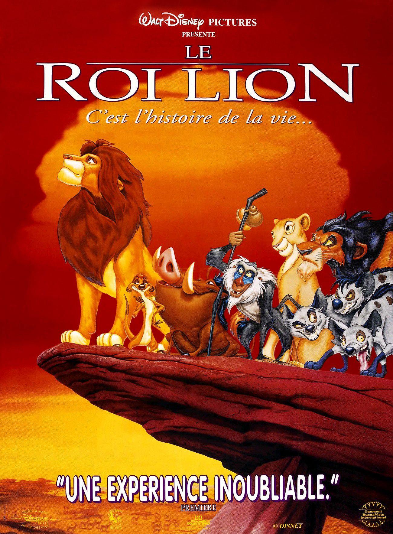 Le roi lion long m trage d 39 animation 1994 senscritique - Le roi lion a colorier ...